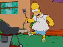 Homer metade roboboy