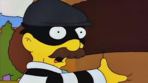 The Krusty Burglar