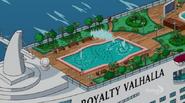 Royalty Valhalla rooftop garden