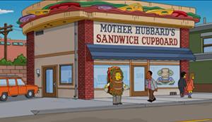 Casa do Sanduíche da Mamãe Hubbard