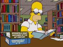 Homer leitura vigias chapeiros