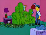 Hedge couch gag