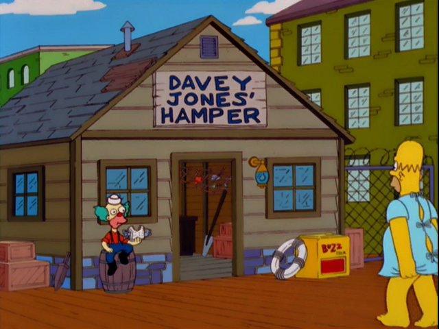 Davey Jones' Hamper