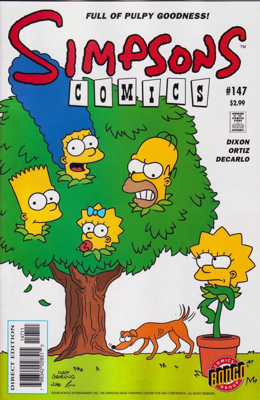 Simpsons Comics 147