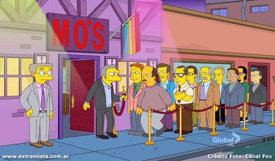 """""""Os Simpsons"""" terá um bar gay"""