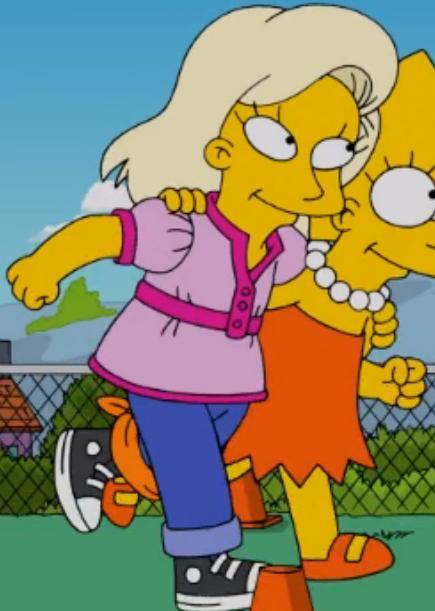 Lisa's race partner
