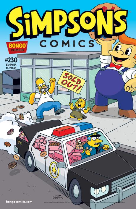 Simpsons Comics 230
