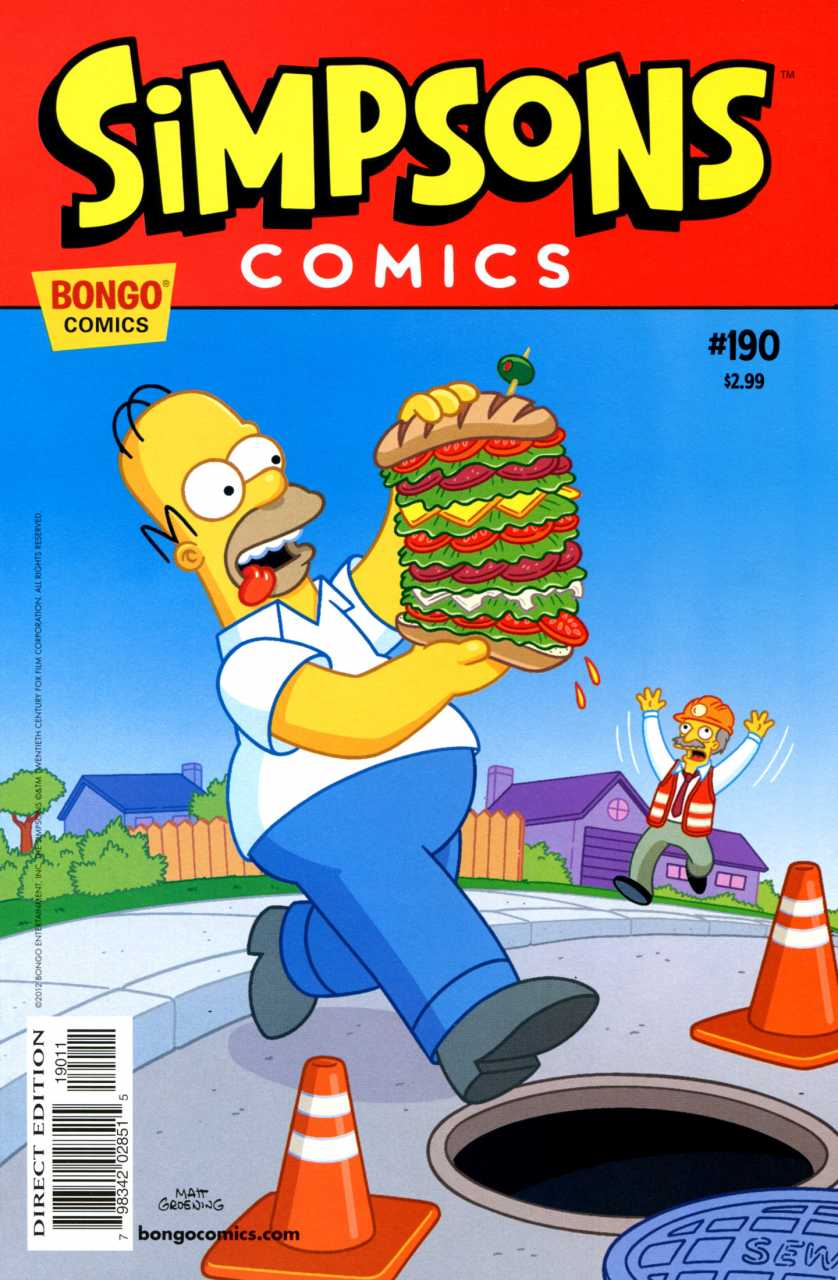 Simpsons Comics 190