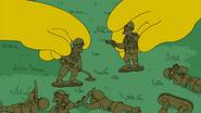 Political mindless war