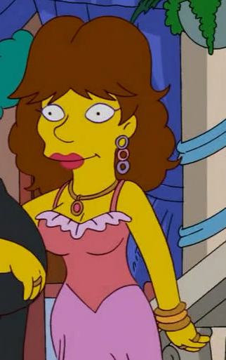 Disco Stu's girlfriend