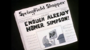 HomerNewspaperEnough