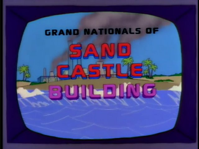 Grand Nationals of Sand Castle Building