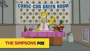 THE SIMPSONS Homer From The Green Room At San Diego Comic-Con 2016 ANIMATION on FOX