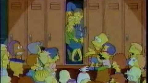 Butterfinger Ad from 1993 - Bart's Locker