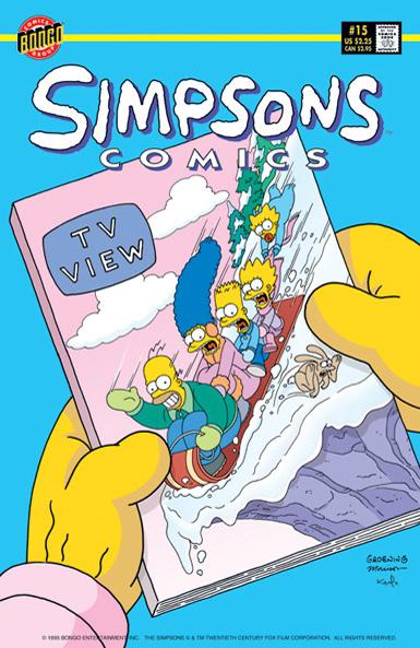 Simpsons Comics 15