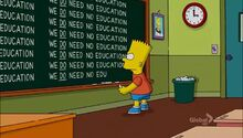 The D'oh-cial Network Chalkboard Gag.JPG