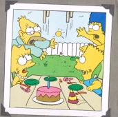 The Simpsons in Maggie's 1st Birthday 2