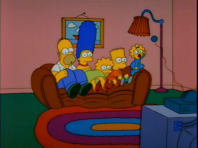 Balloon Couch couch gag