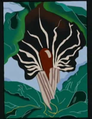Jack-in-the-Pulpit No. 2 - Pintura