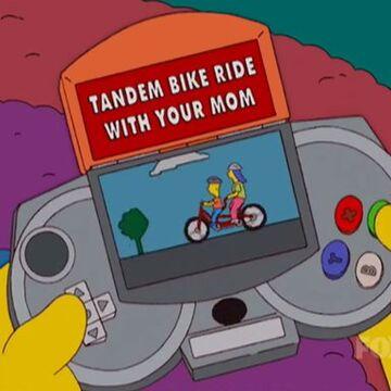 Tandem Bike Ride With Your Mom Simpsons Wiki Fandom