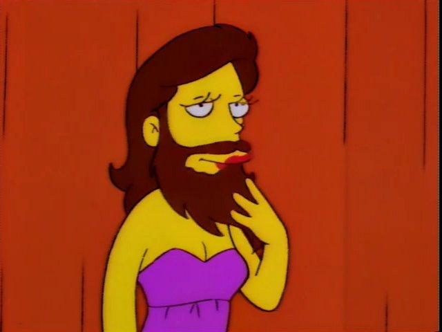 Bearded Lady (Homerpalooza)