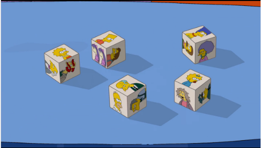 Dice Couch Gag