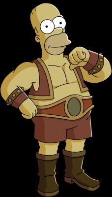 Strong-Man Homer