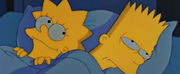 Lisa and Bart share sleep