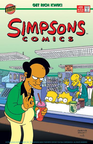 Simpsons Comics 22