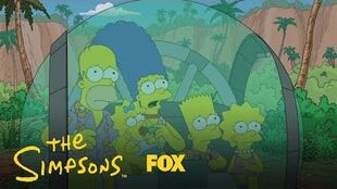 The Simpsons Run Into A Geriatric Dinosaur Season 30 Ep