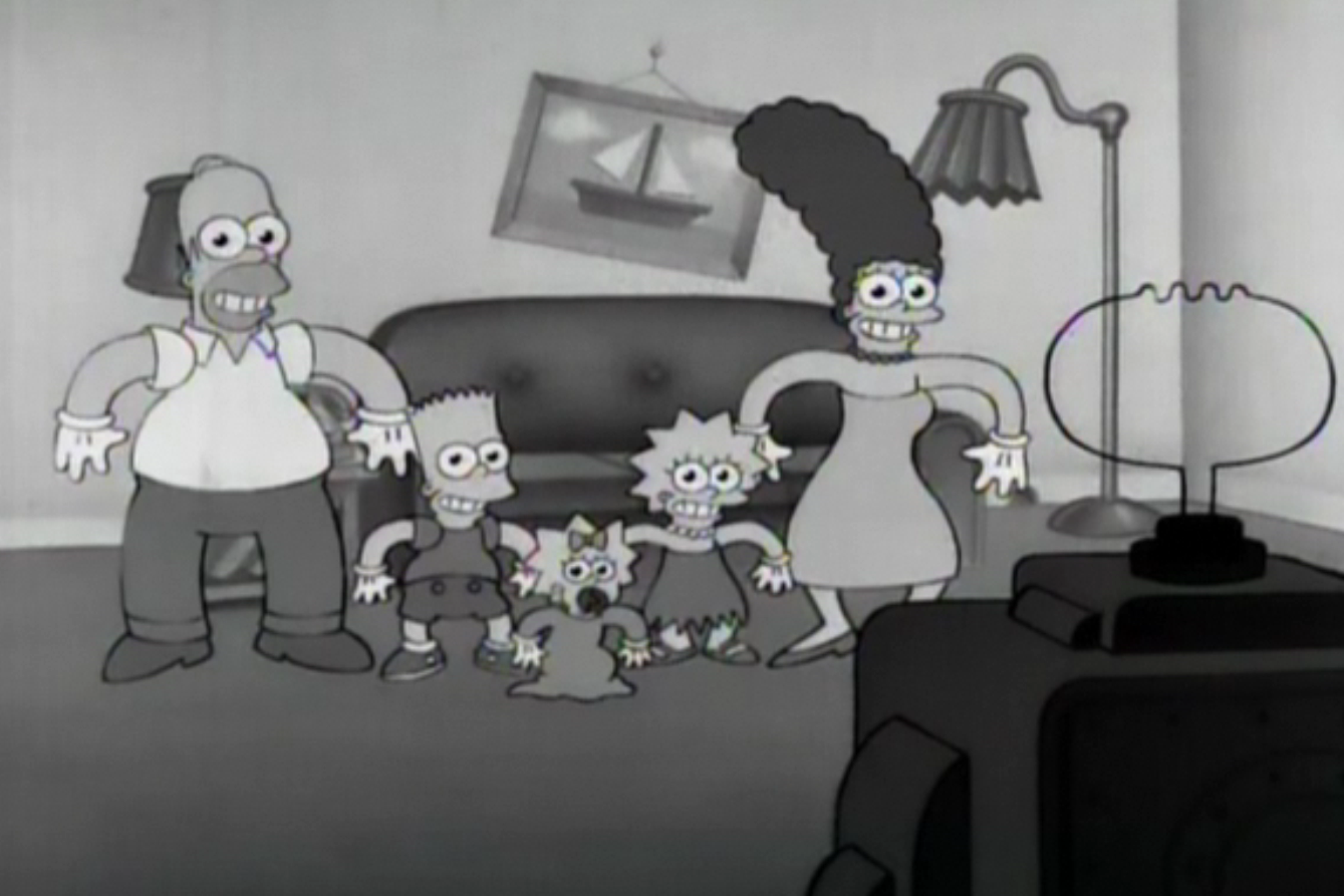Rubber Hose couch gag