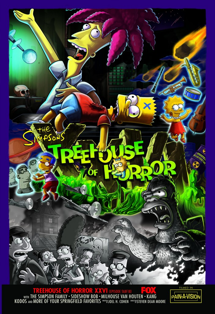 Treehouse of Horror XXVI