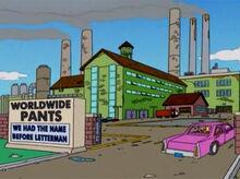 Worldwide pants industry