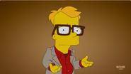 Bart as Woody Allen