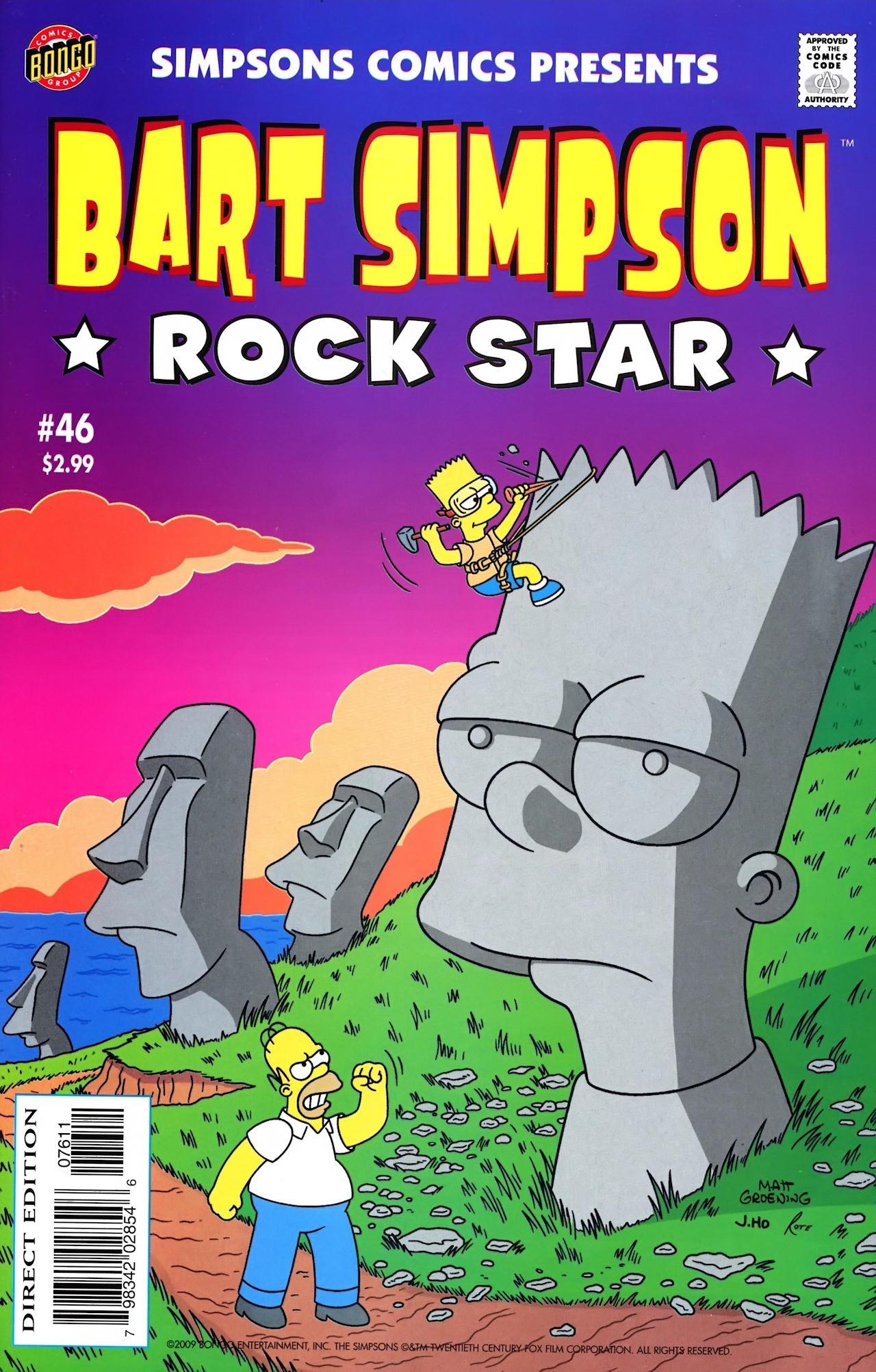 Bart Simpson Comics 46