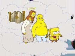 Gesù,Buddha e Spongebob sopra le nuvole