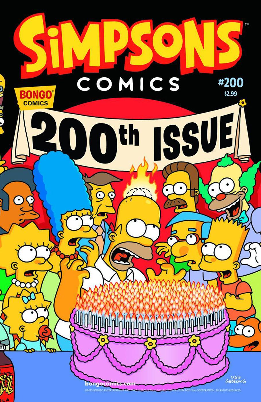 Simpsons Comics 200