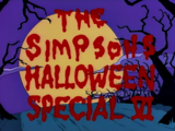 The Simpsons Halloween Special VI - Title Card