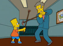 Bart vs skinner amendoim camarão 1