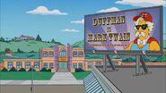 Duffman is Mark Twain billboard