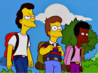 Homer Lenny e Carl jovens