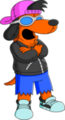 100px-Tapped Out Poochie Mascot