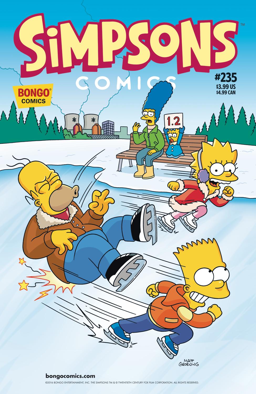 Simpsons Comics 235