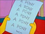 Lisa's letter to Santa