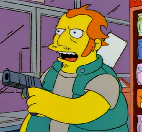 Robber (Homer and Apu)