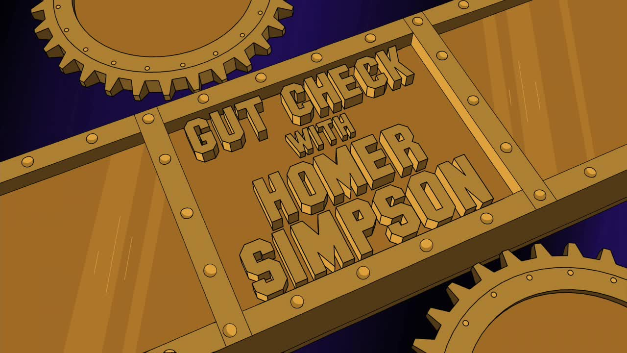 Gut Check with Homer Simpson