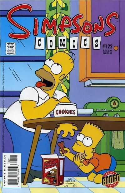 Simpsons Comics 122