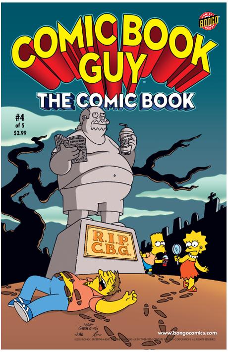 Comic Book Guy: The Comic Book 4