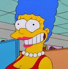 Marge weird looking smile