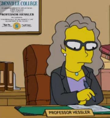 Professora Hessler
